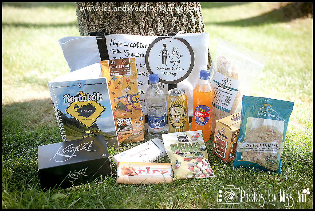 Wedding Welcome Bags.The Importance Of Welcome Bags For Iceland Weddings Iceland