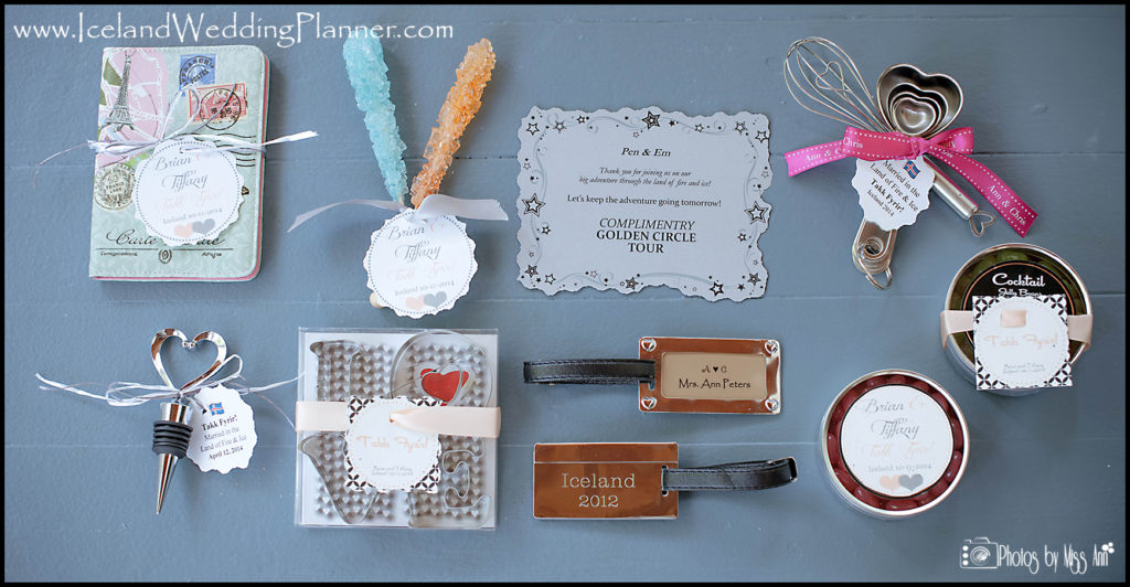 Iceland Wedding Favors | Iceland Wedding Planner and Photographer