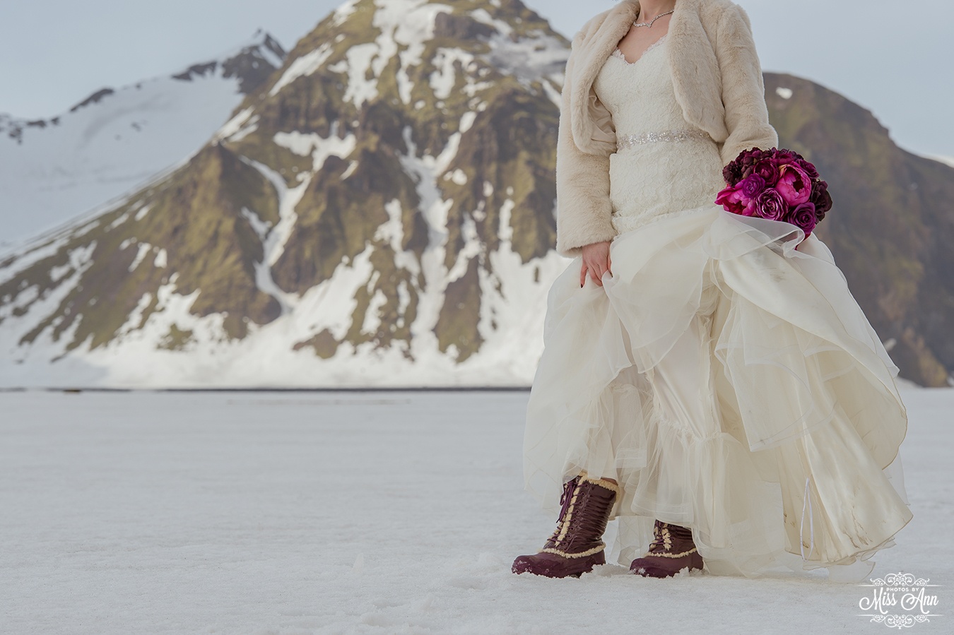 Iceland Wedding Shoes Boots Planner