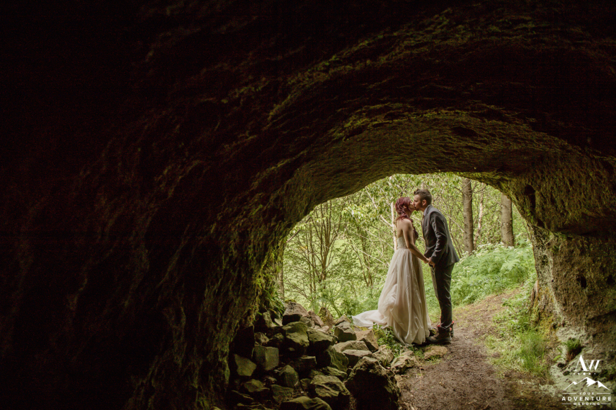 Iceland Cave Elopement