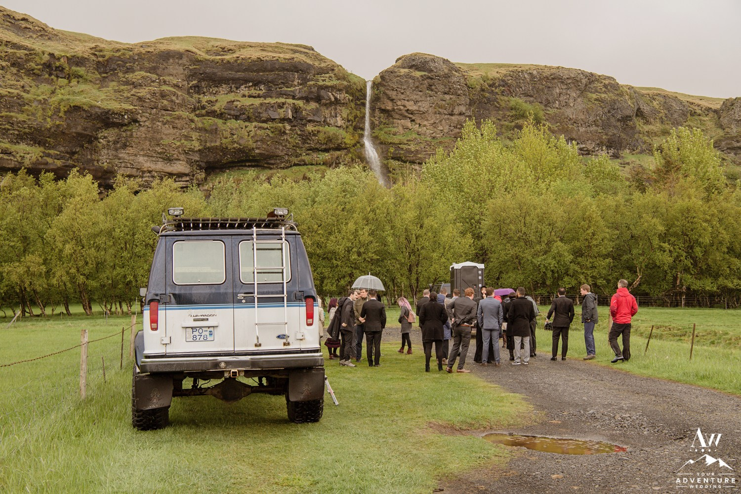 Iceland Super Jeep Wedding