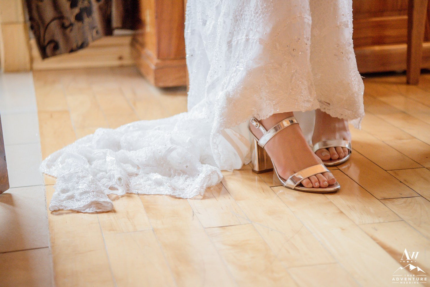 Iceland Wedding Shoes