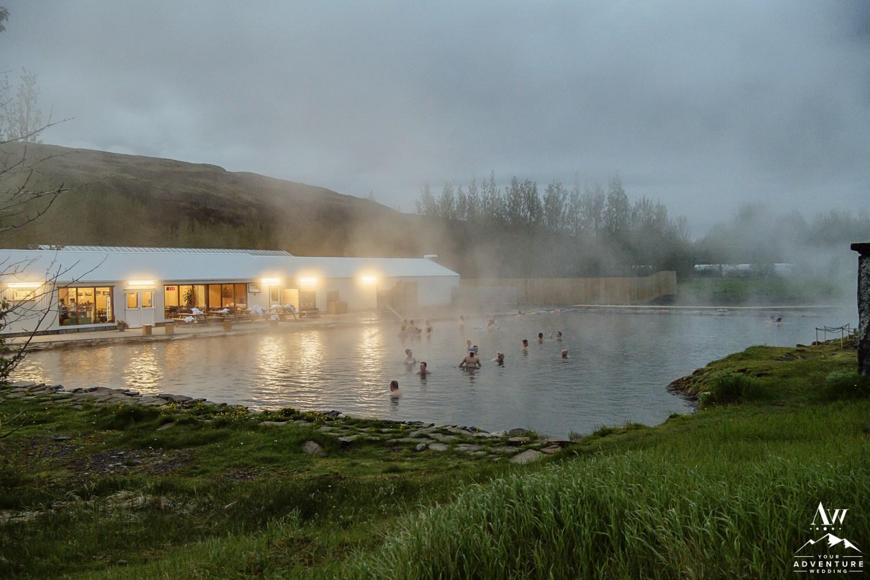 Secret Lagoon Fludir Wedding