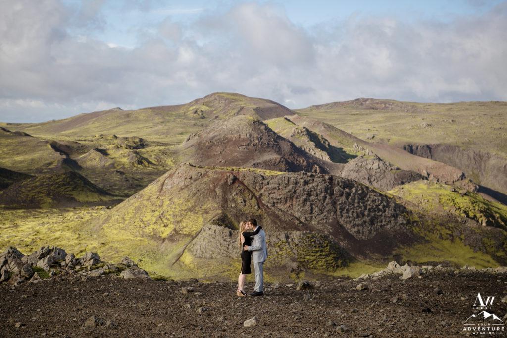 Reykjavik Iceland Luxury Helicopter Proposal Jake Tarryn