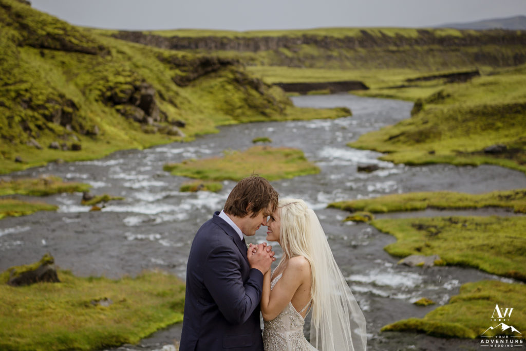 A Hidden Colorful Icelandic Canyon Was Also On The Adventure Wedding Day Agenda To Explore