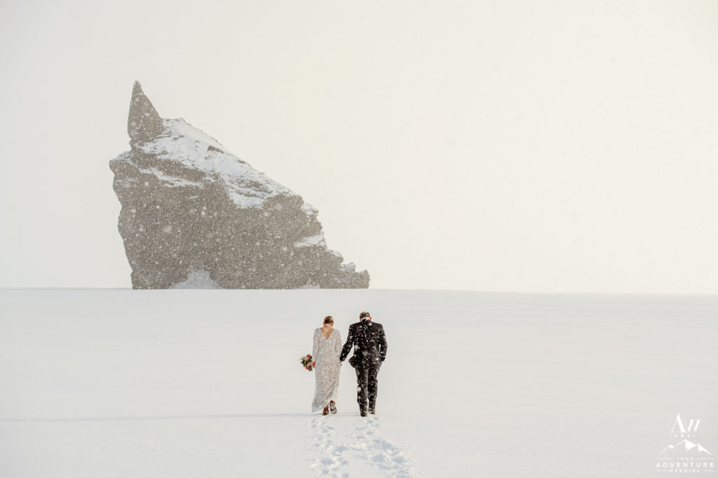 Iceland Blizzard Wedding Adventure