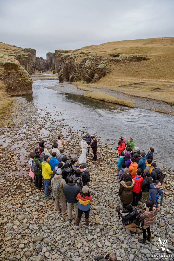Large Wedding in Iceland