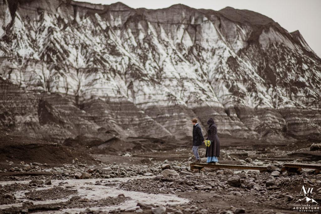 Adventurous Glacier Elopement