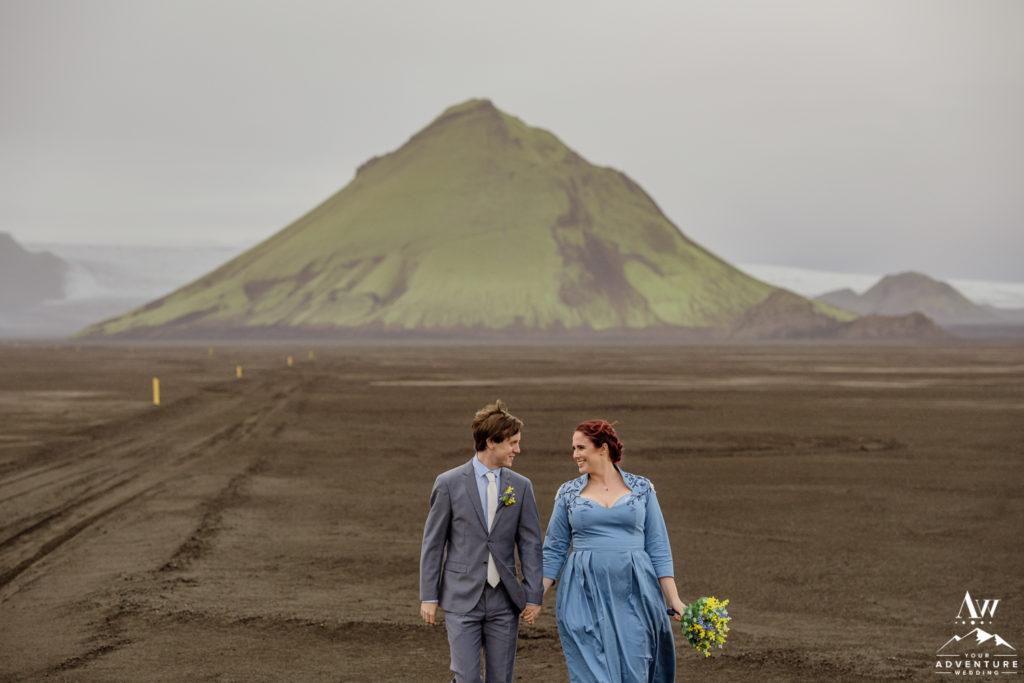 Iceland Mountain Elopement