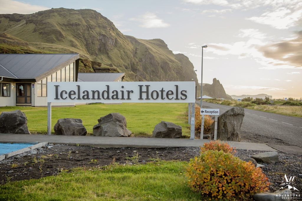 Iceland Elopement at Icelandair Vik