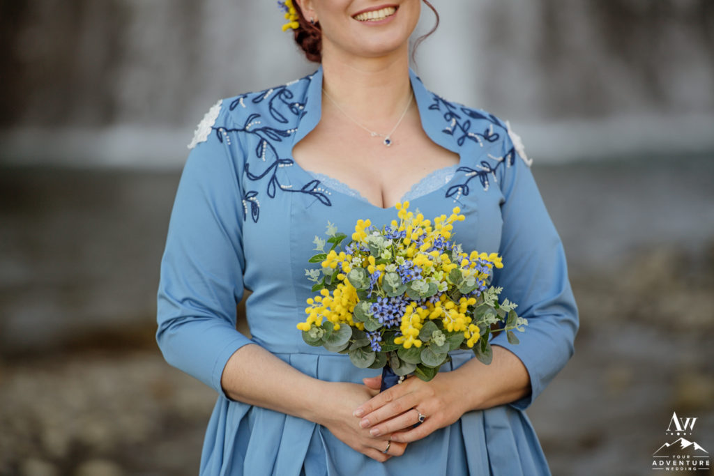 Iceland Bridal Bouquet