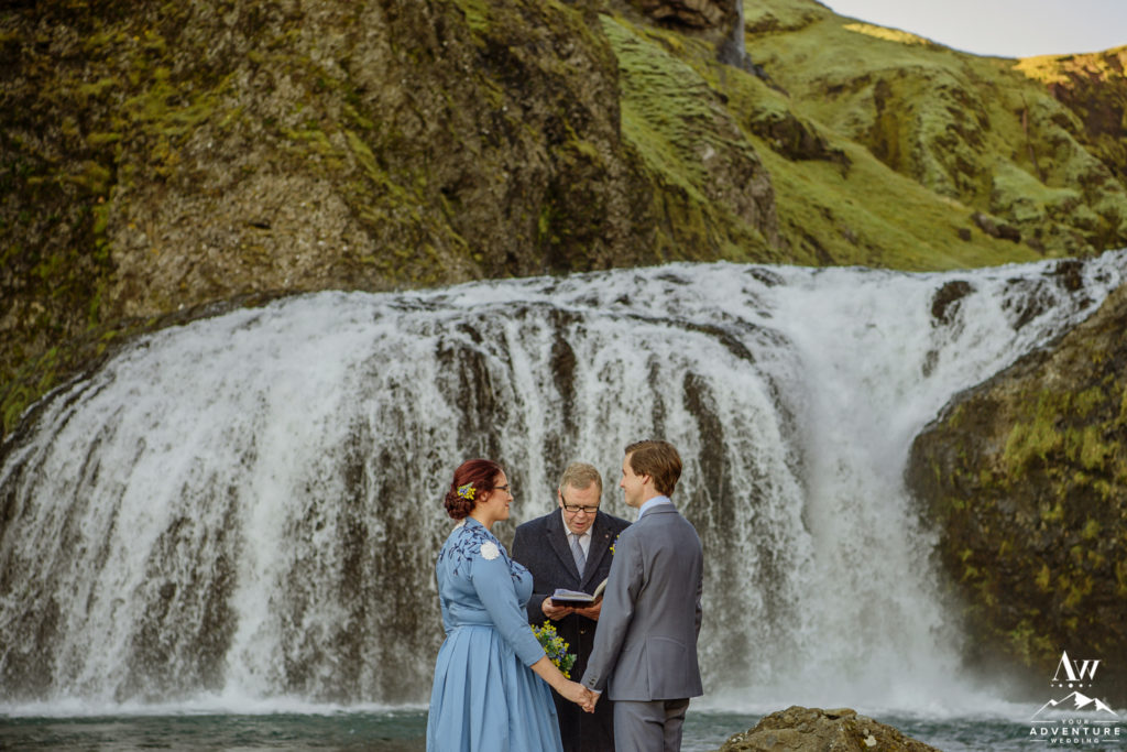 Elopement Ceremony in Iceland