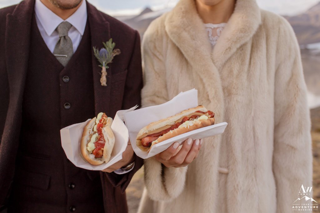 Iceland Wedding Hot Dogs