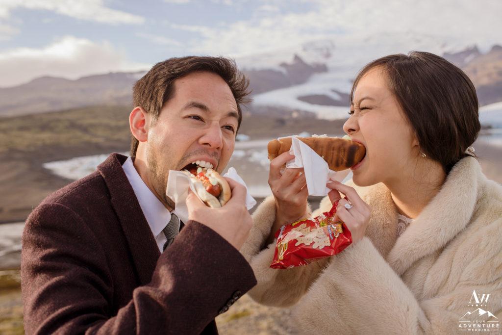 Iceland Hot Dog BBQ