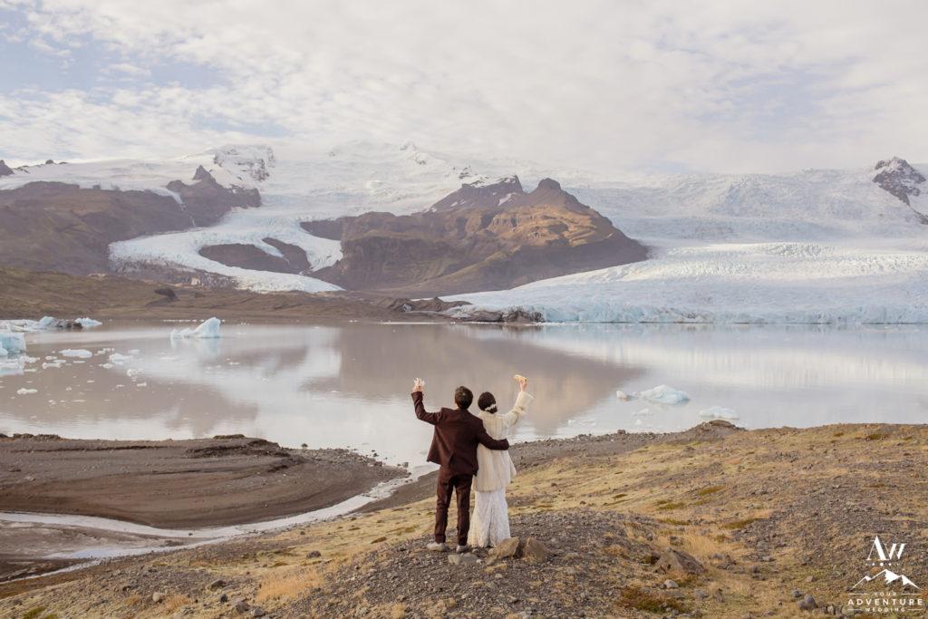 Fjallsárlón Glacier Lagoon Wedding BBQ