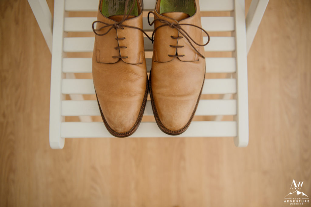 Icelandair Vik Wedding Groom Boot Details