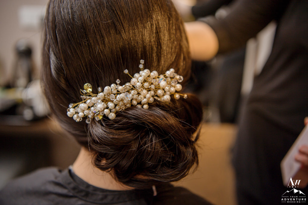 Iceland Wedding Bridal Hairstylist Photo