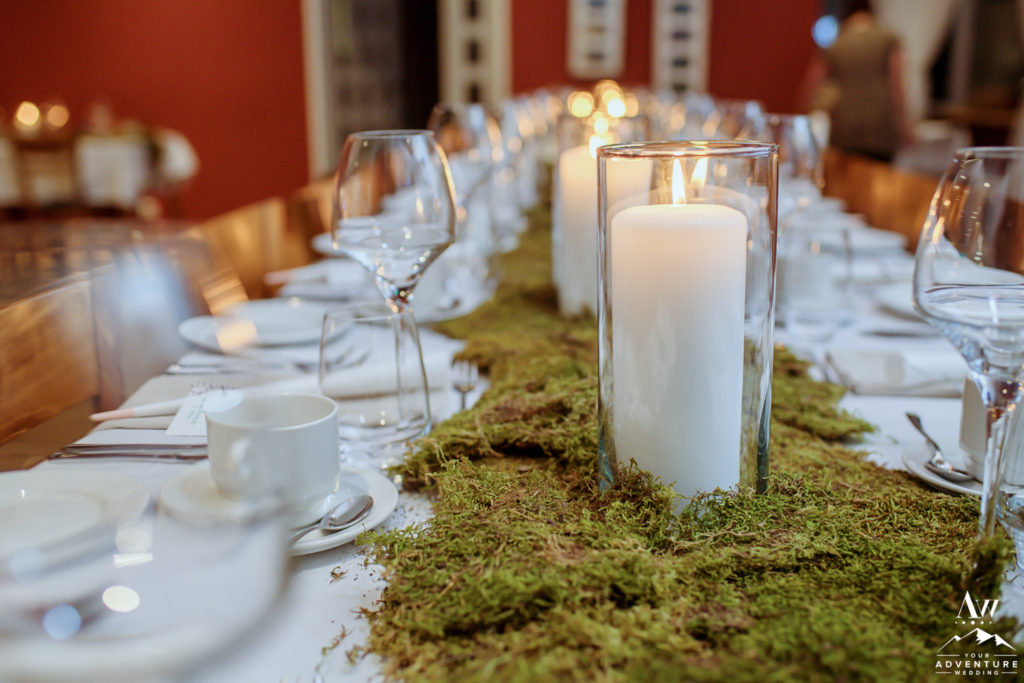 Adventure Wedding Reception Details
