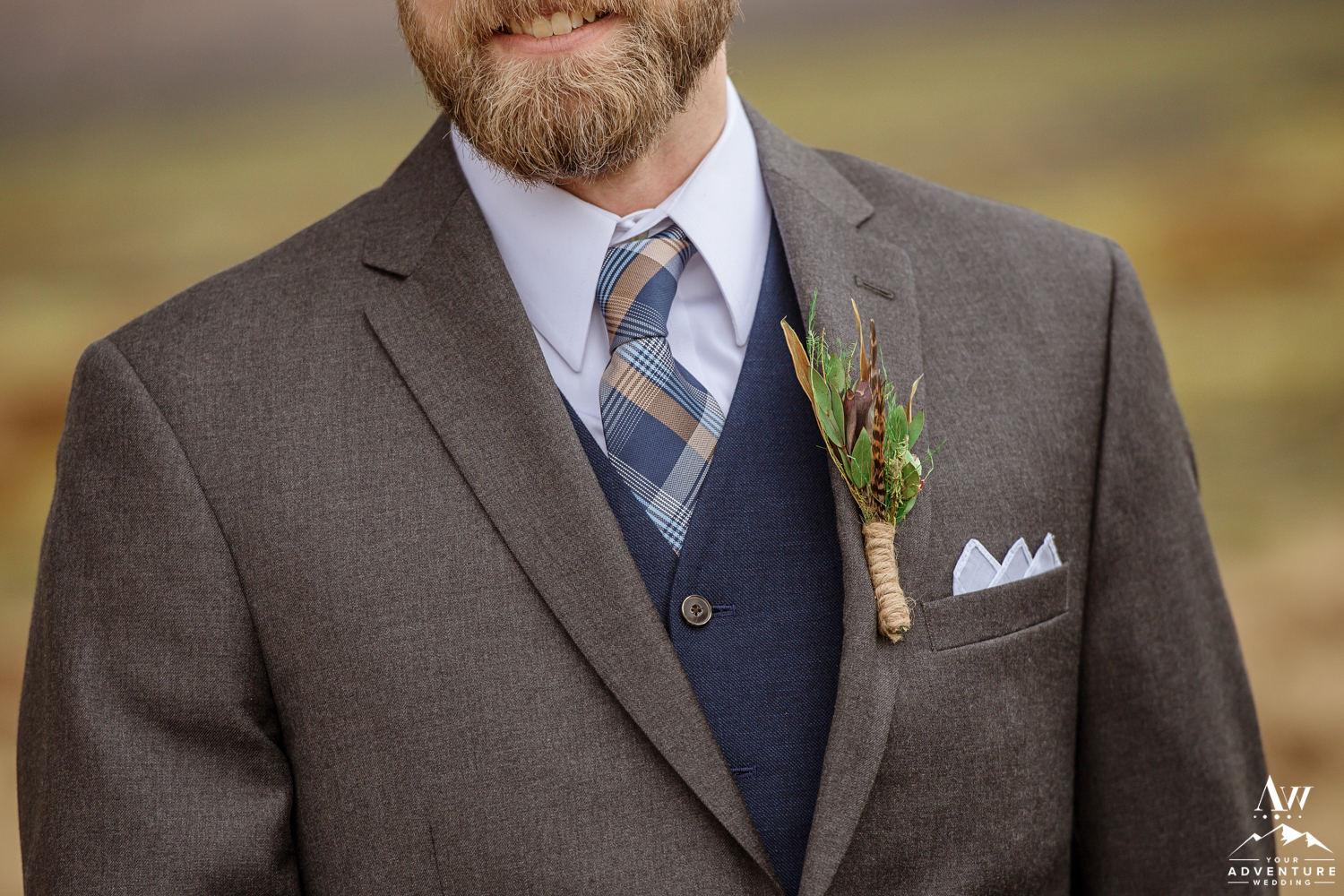 Iceland Grooms suit during Iceland elopement