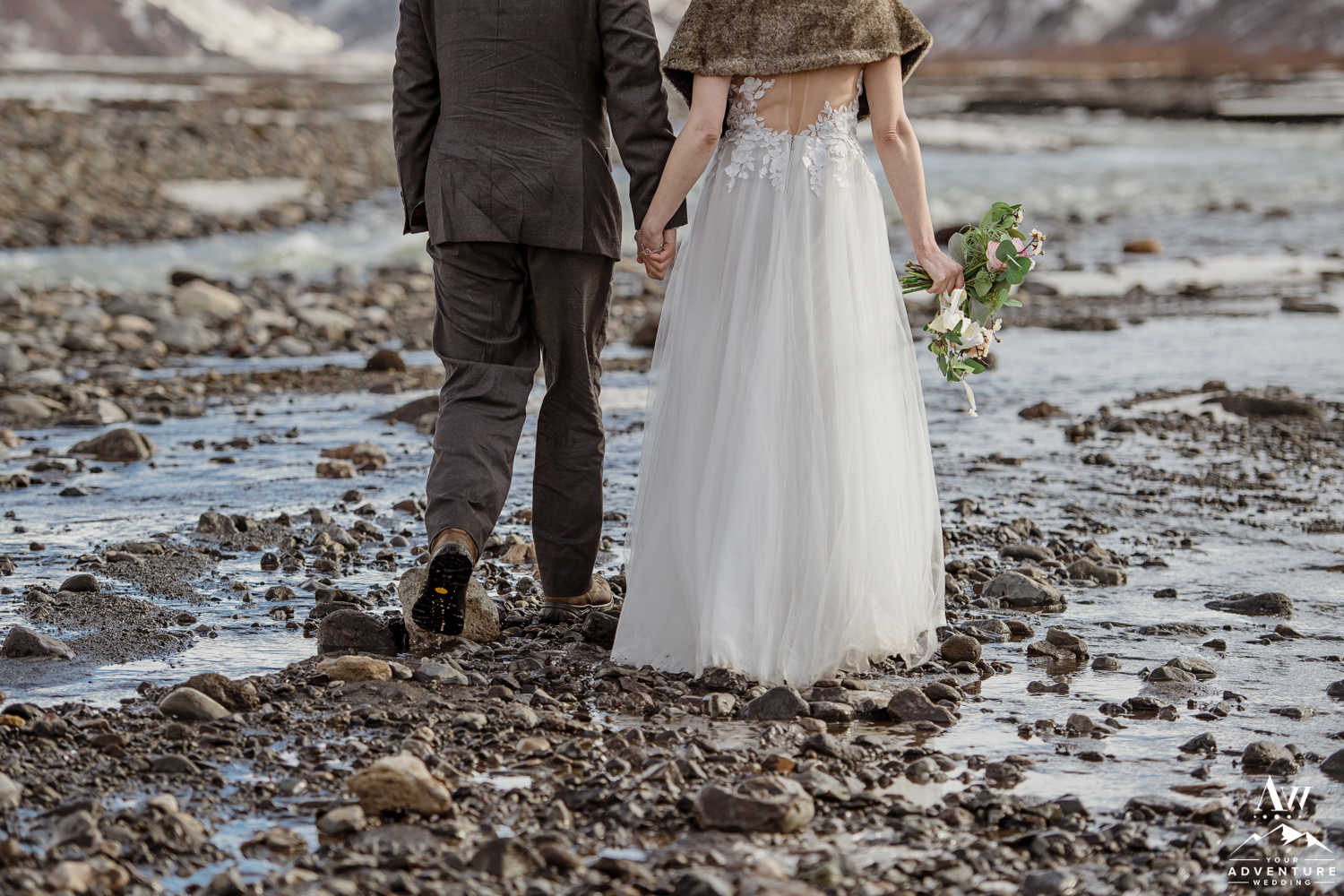 Adventurous Elopement couple in Iceland