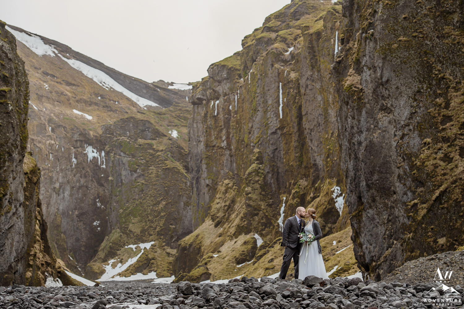 Iceland Wedding Location inside of Thorsmork