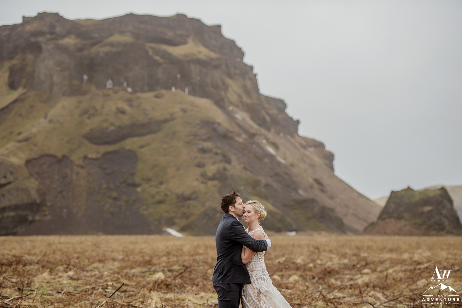 Intimate Iceland Elopement Photos