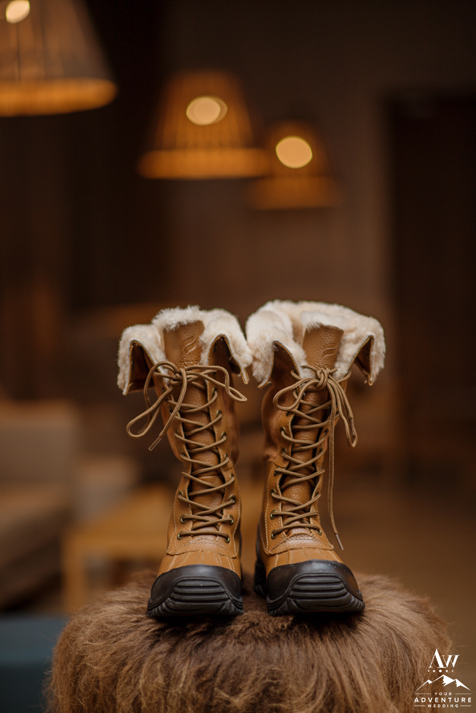 Iceland Wedding Bridal Boots Sorel Boots