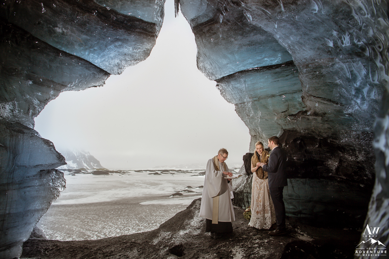 Wedding Ceremony in Iceland