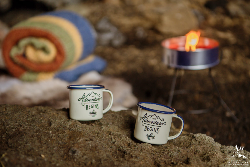 The Adventure Begins Coffee Cups in Iceland