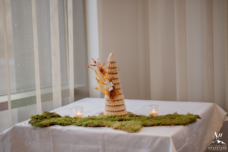 Iceland Wedding Cake also called a Kransakaka