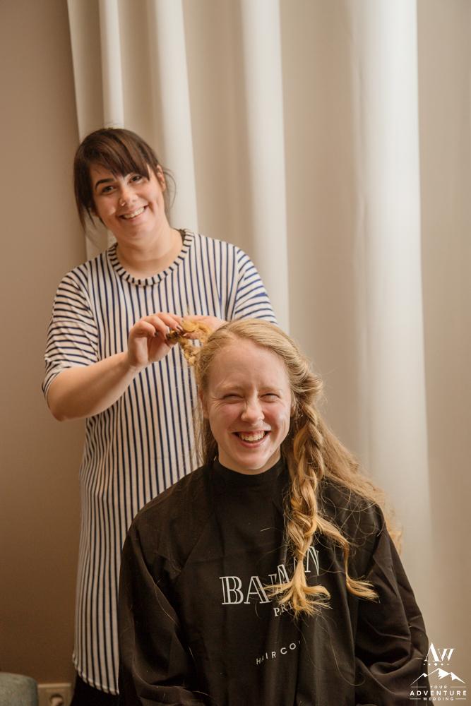 Iceland Hairstylist at Icelandair Vik