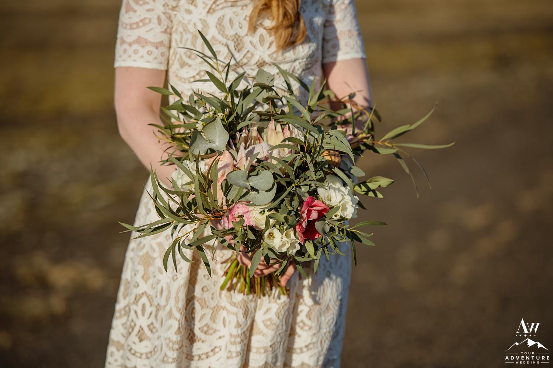 Iceland Wedding Bouquet y Thordis