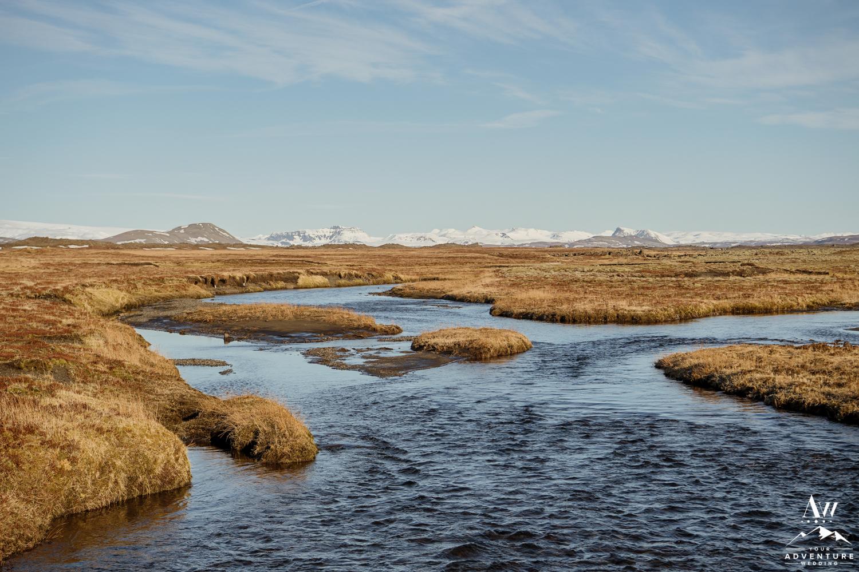 Iceland Wedding Location River Wedding