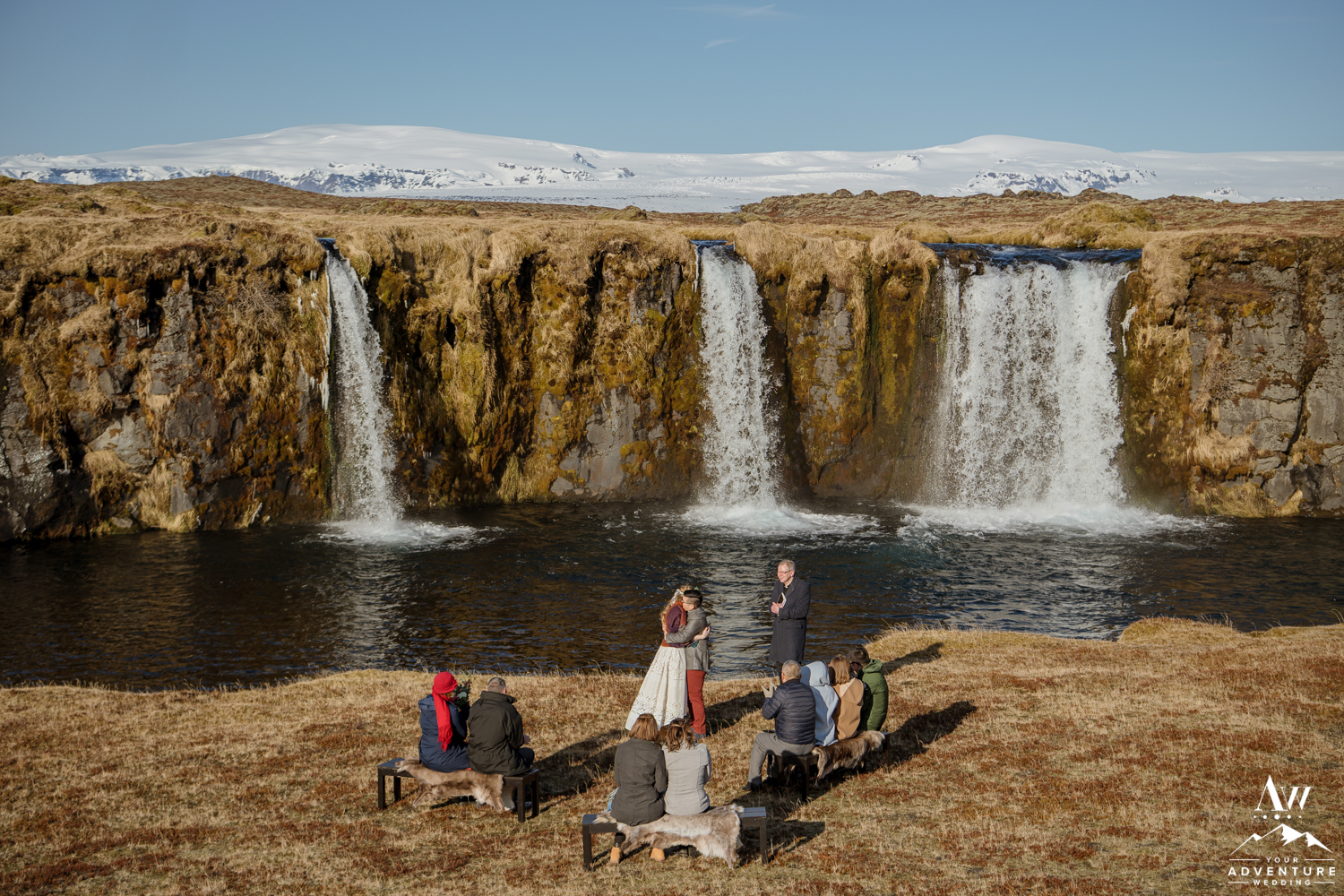 Iceland Wedding Ceremony Locations Private Waterfall