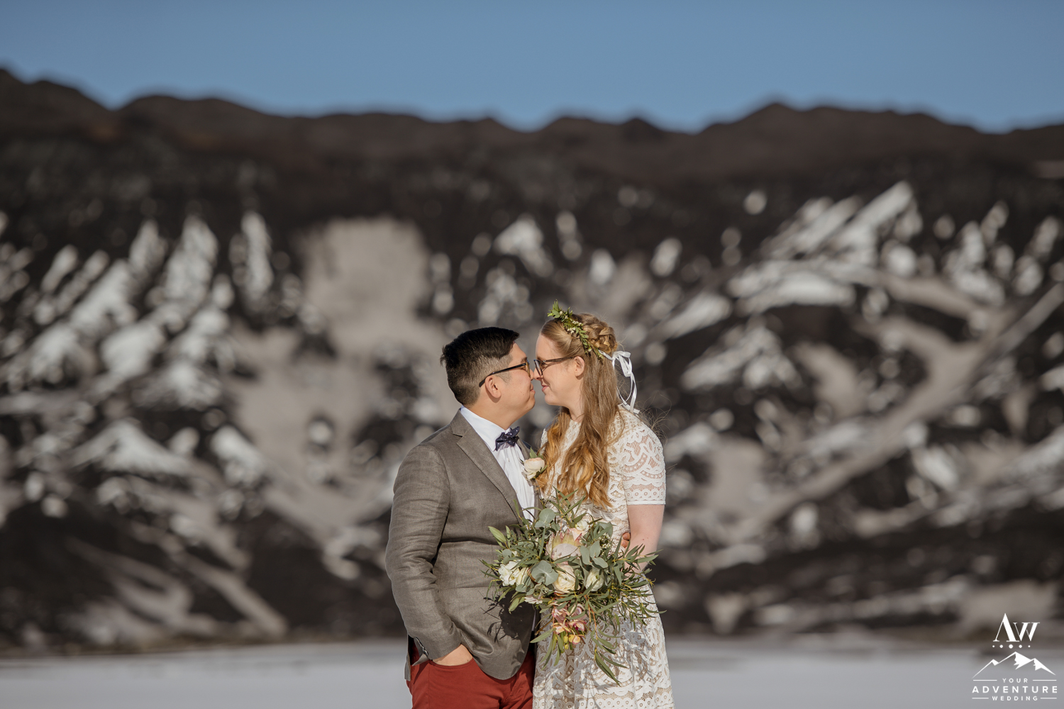Intimate Iceland Wedding Photos of Yong and Zosia