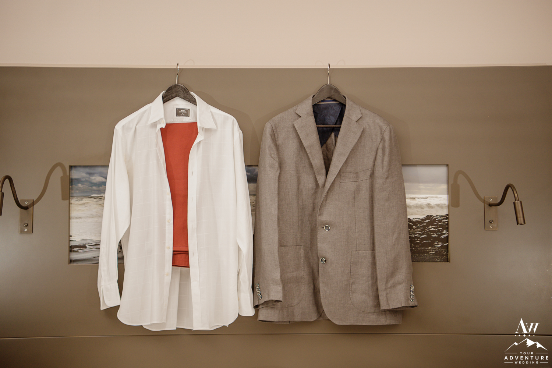 Iceland Wedding Groom Suit Details