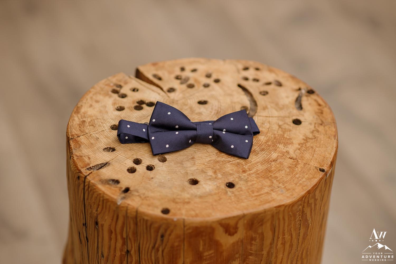 Iceland Wedding Bow Tie