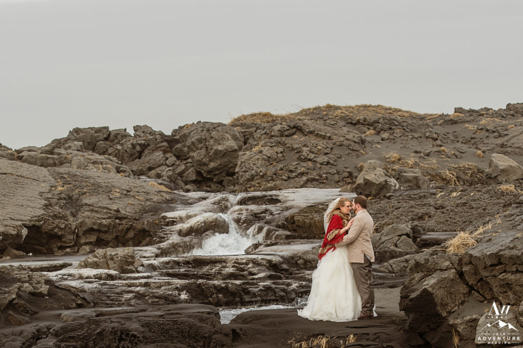 Romantic Elopement Photos in Iceland