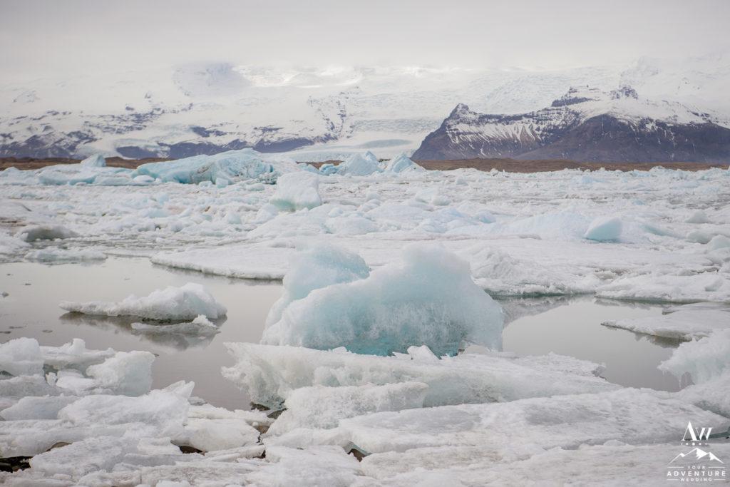 Jökulsárlón Glacier Lagoon Iceland Wedding Ceremony Location