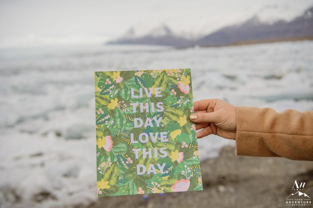 Iceland Wedding at Glacier Lagoon
