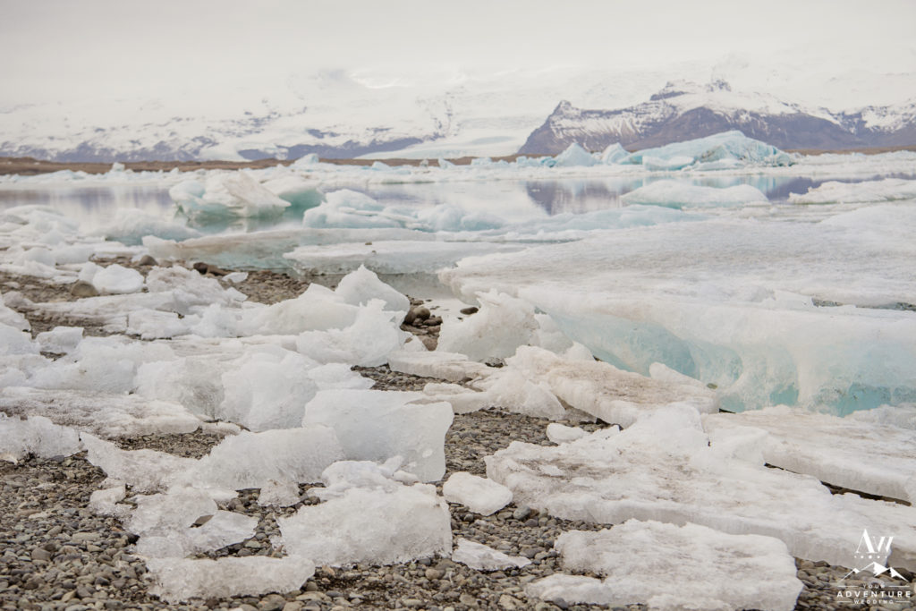 Iceland Wedding Location at Glacier Lagoon