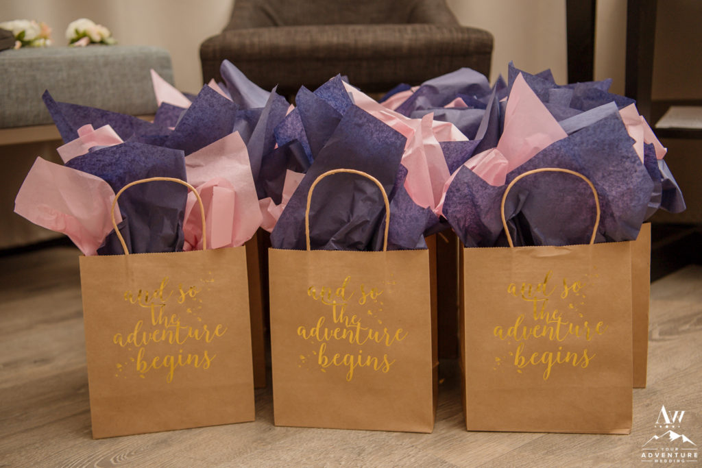 And so the adventure begins destination wedding bags
