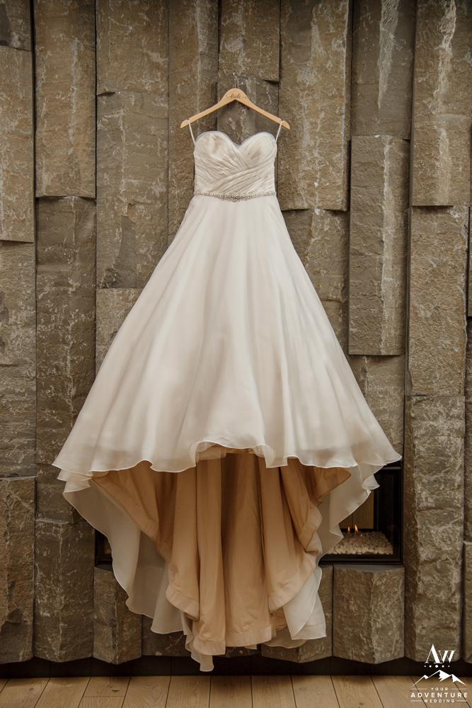 Iceland Destination Wedding Dress for adventurous wedding