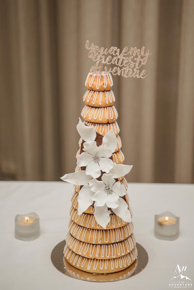Kransakaka Iceland Wedding Cake at Icelandair Vik