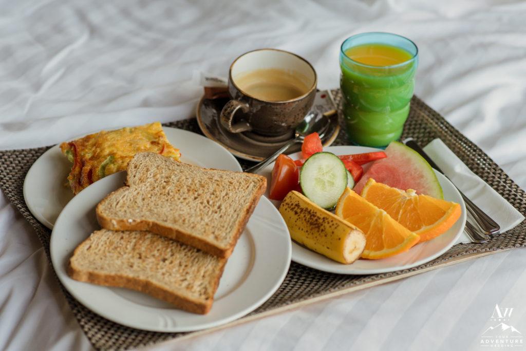 Breakfast at Icelandair Vik for elopement