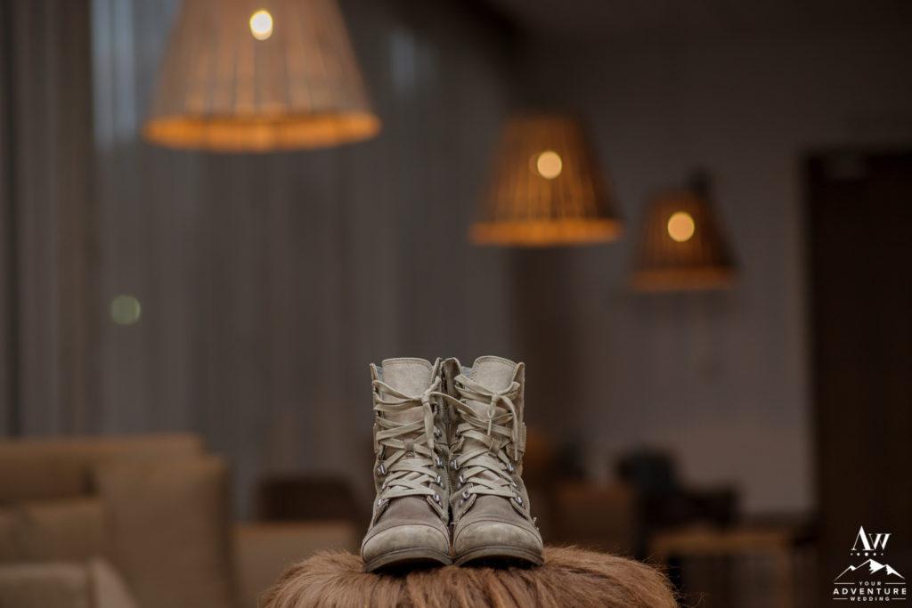 Iceland Bridal Boots at Icelandair Vik