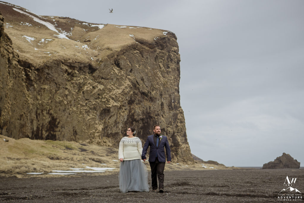Alternative Iceland Wedding Attire Iceland Sweater and Tulle Skirt