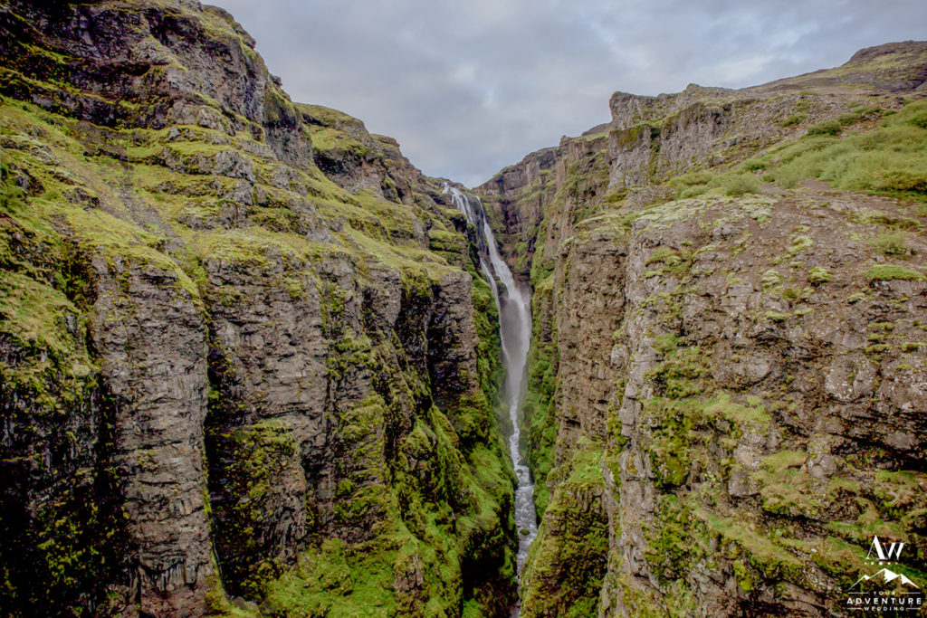 Tallest Waterfall in Iceland Hike to Glymur Waterfall
