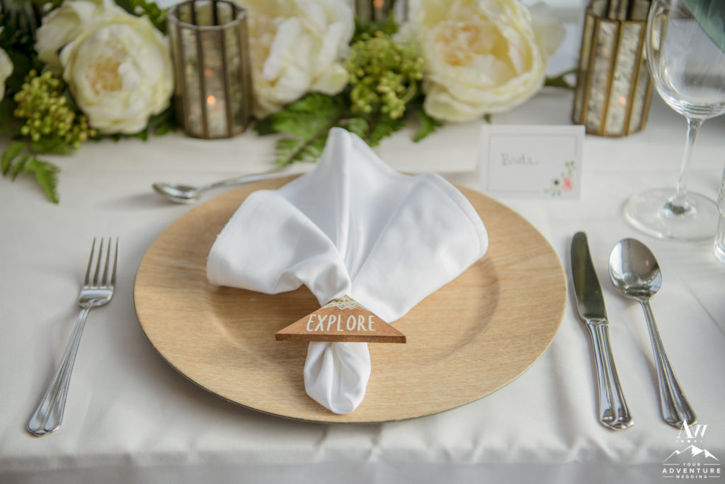 Explore Napkin Rings for Iceland Elopement