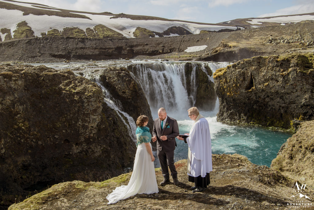 Highland Waterfall Wedding Ceremony
